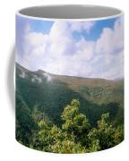 Clouds Over Mountain, Sunset Rock Coffee Mug