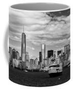 Clouds Over New York Coffee Mug