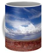 Clouds Over The Badlands Coffee Mug