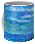 Clouds Over The Blue Ridge Coffee Mug
