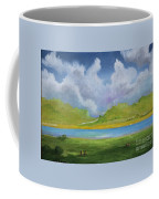 Clouds Over The Lake Coffee Mug