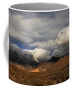 Clouds Over The Organ Mountains Coffee Mug