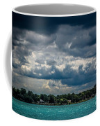 Clouds Over The River Coffee Mug