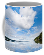 Clouds Reflected In Puget Sound Coffee Mug
