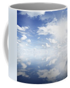 Clouds Reflected Coffee Mug