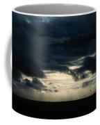 Clouds Sunlight And Seagulls Coffee Mug by Hakon Soreide