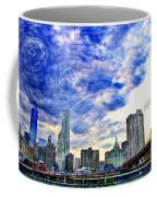Clouds Van Gogh Coffee Mug