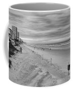 Cloudy Beach Morning Coffee Mug