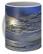 Cloudy Day At The Beach Coffee Mug
