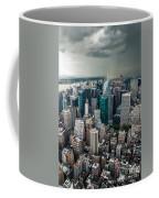 cloudy Manhattan Coffee Mug