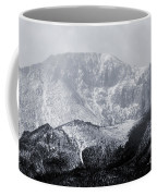 Cloudy Misty Pikes Peak Coffee Mug