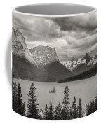 Cloudy Mountain Top Coffee Mug