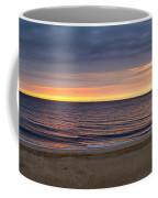 Cloudy Sunrise On Nauset Beach Coffee Mug
