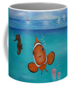 Clown Fish And Friends Coffee Mug