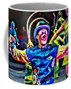 Clowned Blue Coffee Mug