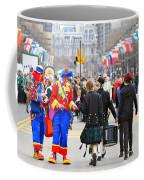 Clowns And Tartans Coffee Mug