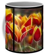 Cluisiana Tulips Triptych  Coffee Mug by Peter Piatt