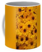Cluster Of Yellow Blooms Coffee Mug