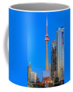 Cn Tower By Night Coffee Mug