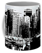 Vancouver  Canada Coal Harbour Triptych Left Panel Coffee Mug