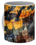 Coal Mine Canyon Aglow Coffee Mug