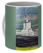 Coal Mine Electrical Energy Power Plant In Nature Coffee Mug