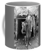 Coal Miner & Mule 1940 Coffee Mug