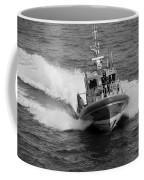Coast Guard In Black And White Coffee Mug