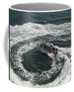Coast Guard Ship - Port Of Los Angeles Coffee Mug