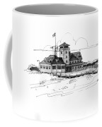Coast Guard Station 2 Ocracoke 1970s Coffee Mug