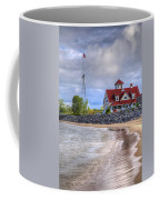 Coast Guard Station In Muskegon Coffee Mug