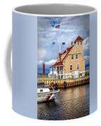 Coast Guard Station On Muskegon Lake Coffee Mug