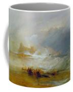 Coast Of Northumberland Coffee Mug