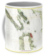 Coast Survey Map Of San Francisco Bay And City Coffee Mug