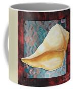 Coastal Decorative Shell Art Original Painting Sand Dollars Asian Influence II By Megan Duncanson Coffee Mug