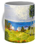 Coastal Fishing Village Coffee Mug