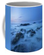 Coastal Landscape At Trollskjeran Coffee Mug