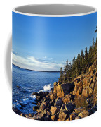 Coastal Maine Landscape. Coffee Mug