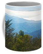 Coastal Range And Clouds From West Point Inn On Mount Tamalpias-california Coffee Mug