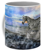 Coastal Stripes I Coffee Mug by Betsy Knapp