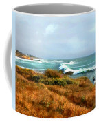 Coastal Waves Roll In To Shore Coffee Mug