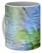 Coastline Mosaic Abstract Art Coffee Mug by Christina Rollo