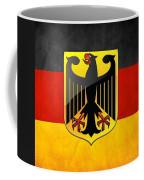 Coat Of Arms And Flag Of Germany Coffee Mug