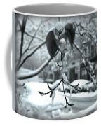 Coat Of Ice - Winter In New York Coffee Mug