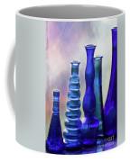 Cobalt Blue Bottles Coffee Mug