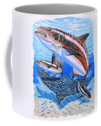 Cobia On Rays Coffee Mug