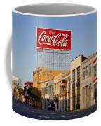 Coca Cola Billboard - San Francisco, California Usa Coffee Mug
