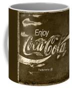Coca Cola Sign Coffee Mug