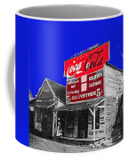 Coca-cola  Sign Palace Cafe Sumter South Carolina 1912-2013   Coffee Mug