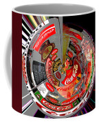 Coca Cola Signs In The Round Posterized Coffee Mug